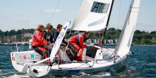 I weekenden repræsenterer liga-sejlerne Gilleleje Sejlklub