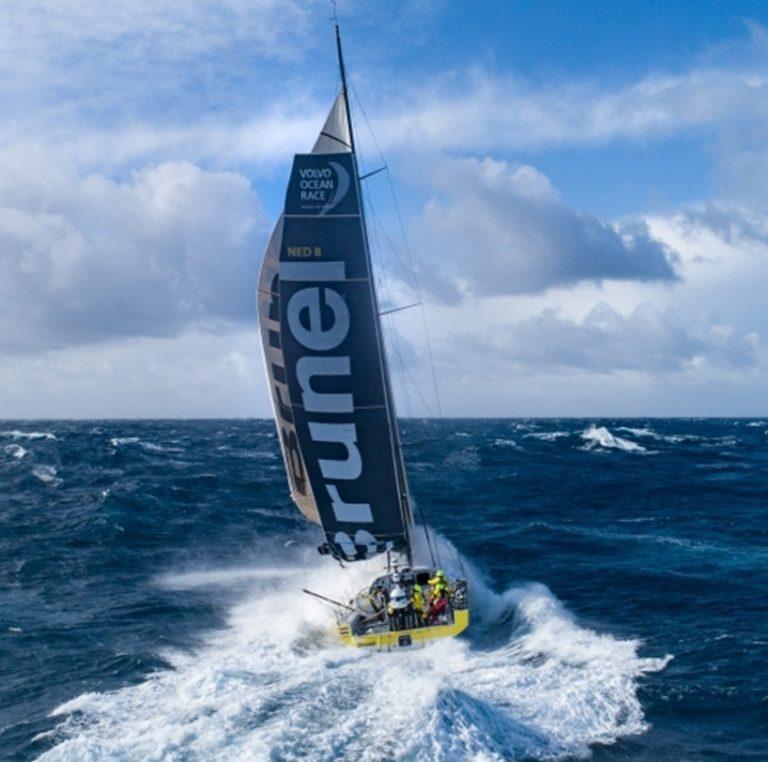 Tillykke til skipper Bekking med enestående etapesejr