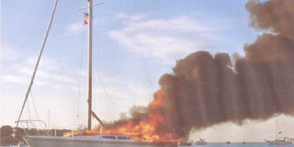 Brand om bord