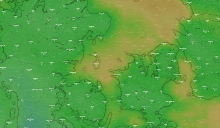 Se vejr og sejlprognoser med Windy